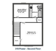 319 Power Street Akron Ohio. Roo Town Rentals offers the BEST houses for rent near the University of Akron. Close to campus, clean, and affordable.