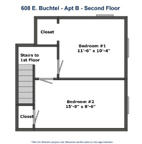 608 E. Buchtel Ave Apartment B Akron Ohio. Roo Town Rentals offers the BEST Akron University apartments and houses for students at the University of Akron.