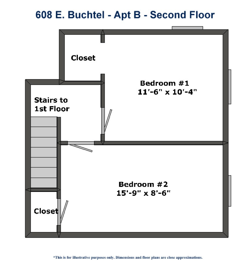 Rental Apartment Websites: 608 E. Buchtel Avenue Apt B